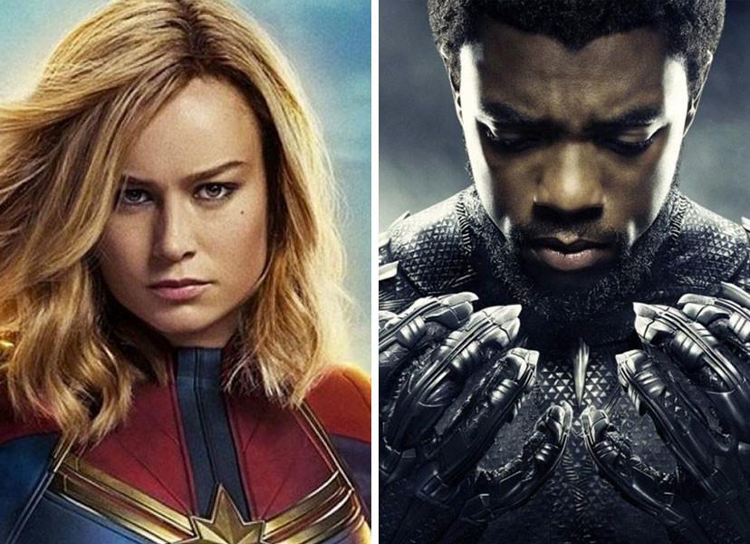 Inclusão e Diversidade no Universo Geek: Capitã Marvel / Pantera Negra
