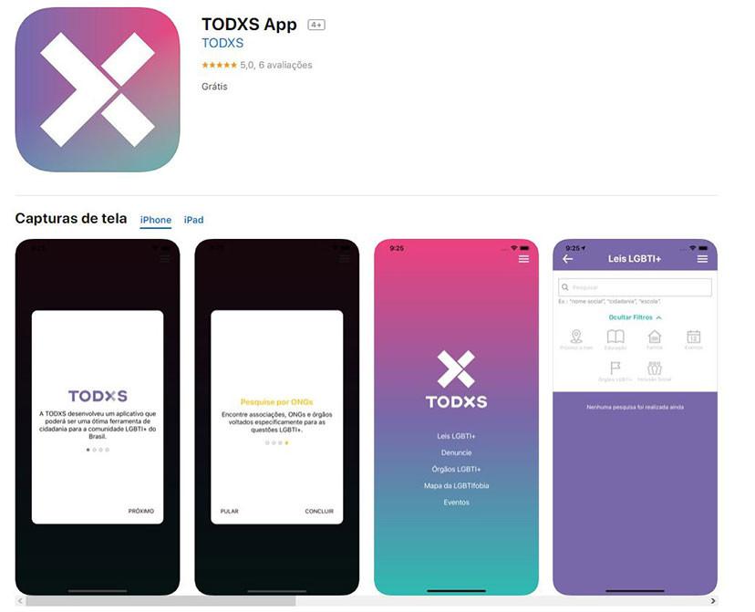 Apps contra a LGBTIfobia: TODXS