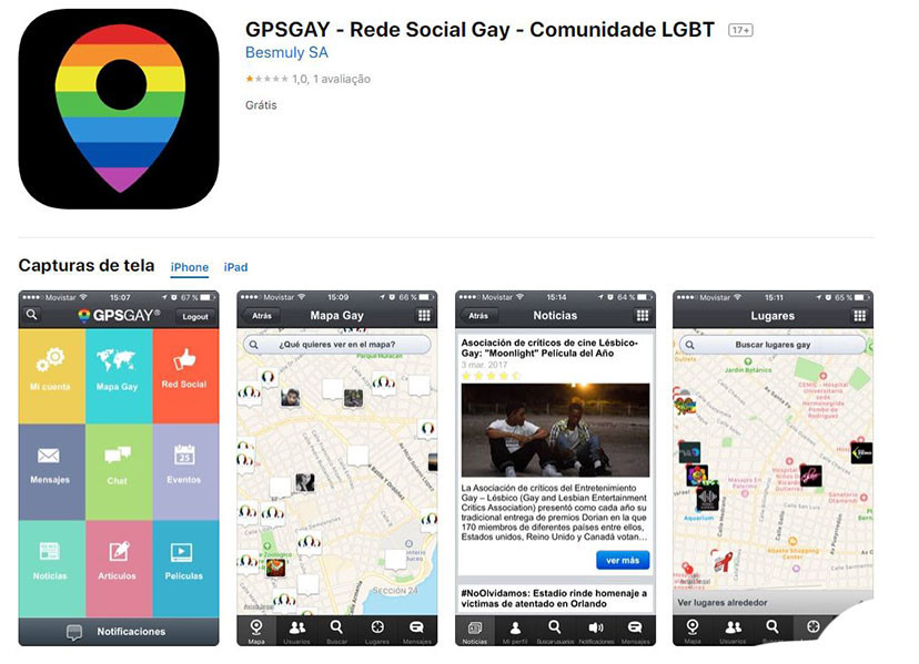 Apps contra a LGBTIfobia: GPSGAY