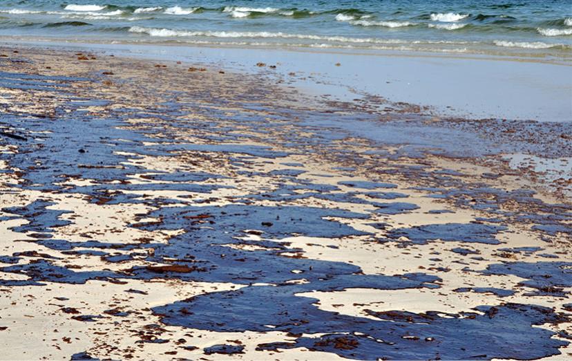 óleo nas praias do Nordeste